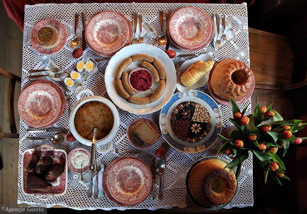 Wielkanocne śniadanie