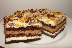 Ciasto czekoladowe z likierem