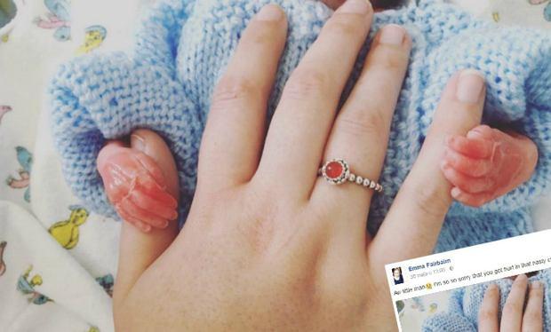 Emma musiała urodzić martwe dziecko