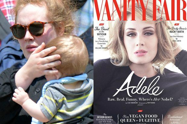 """Adele cztery lata temu została mamą. Teraz w rozmowie z """"Vanity Fair"""" przyznała, że miała chwile, w których żałowała decyzji o urodzeniu dziecka."""