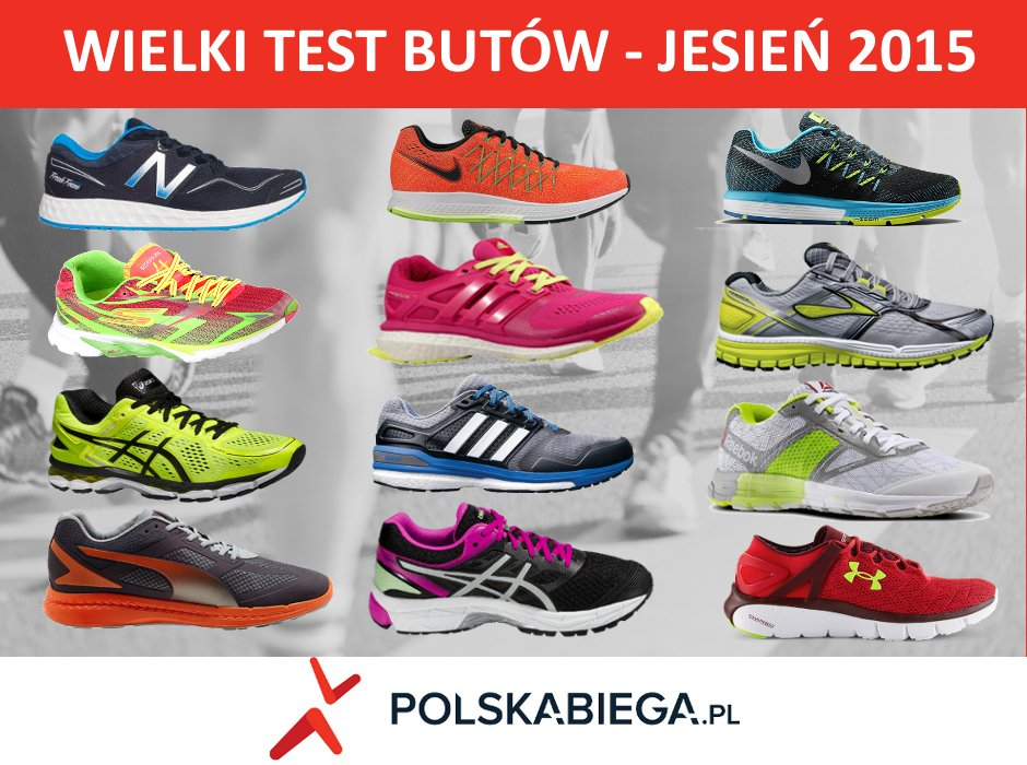 2def1846 Nike, New Balance, adidas, ASICS, Brooks, Under Armour, Reebok... [WIELKI  TEST BUTÓW - JESIEŃ 2015]