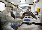Ćwiczenia z przygotowania personelu medycznego na wypadek przyjęcia pacjenta z wirusem ebola w Wielkiej Brytanii