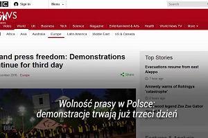 """""""Co się dzieje, gdy populiści dojdą do władzy"""". Zagraniczna prasa komentuje kryzys polityczny w Polsce"""