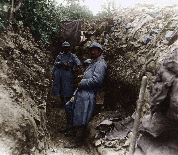 z16985630Q,Francuzi-w-okopach-nad-Somma-w-1916-r--Kilkumiesie.jpg