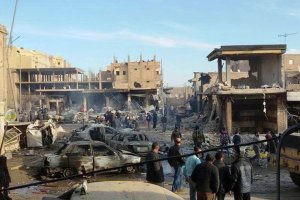 Stolica kalifatu pod bombami