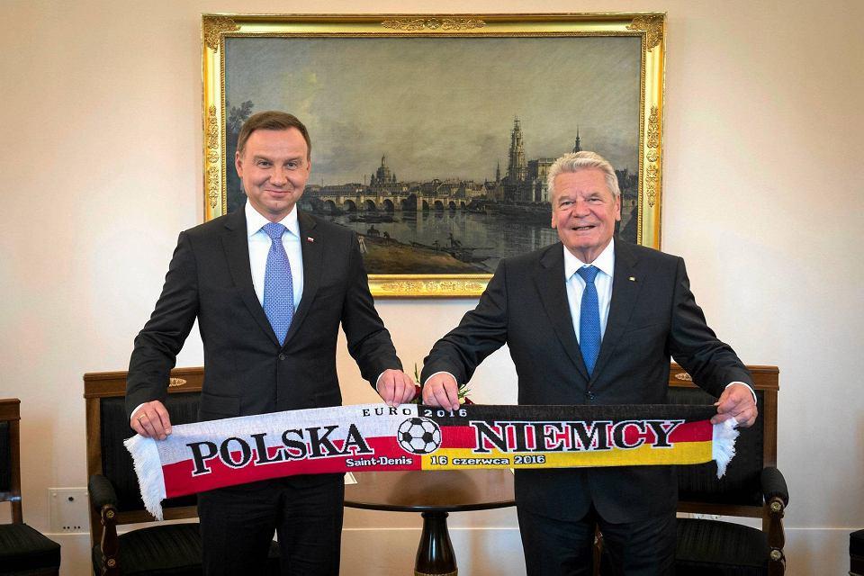 Prezydent Duda i prezydent Gauck - wczoraj w Berlinie