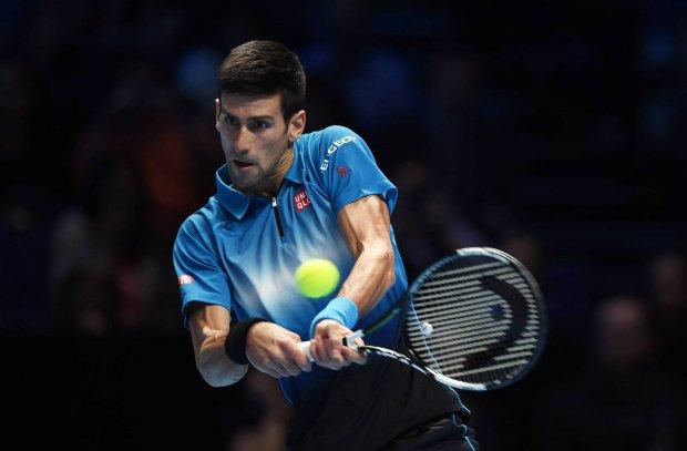 Tenis. ATP World Tour Finals. Djokovic pokona� Berdycha i jest w p�finale