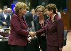 Szczyt Unia Europejska - Turcja. Angela Merkel rozmawia z Beatą Szydło
