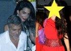 George Clooney z �on� na obiedzie we W�oszech. Amal w centrum uwagi? Nie! Bo towarzyszy�a im ONA