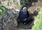Podczas ekshumacji w Gross-Rosen znaleziono szczątki 64 osób [FOTO]