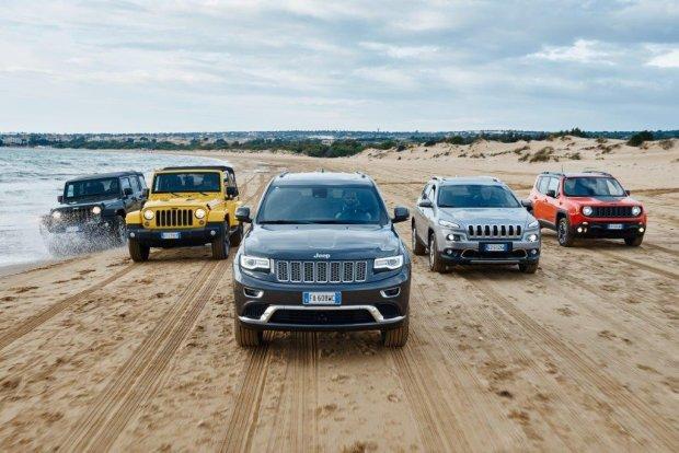 Jeep najszybciej rozwijaj�c� si� mark� w Europie