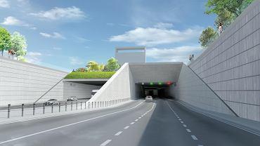 Tunel południowej obwodnicy Warszawy przez Ursynów