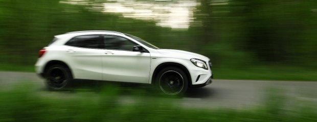 Mercedes GLA 200 CDI 4Matic | Test | Wysokie A