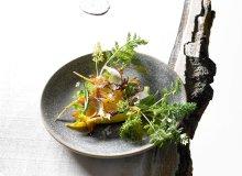 Sałatka z marchewką, borowikami, konfitowanym żółtkiem i szczawiem - ugotuj