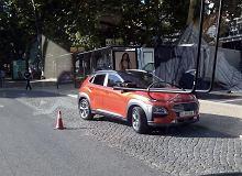 Hyundai Kona przyłapany bez kamuflażu