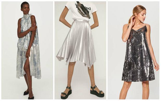 Od lewej:  Sukienka H&M 499 zł,  spódnica Bershka 139 zł, sukienka Mohito 99,99 zł