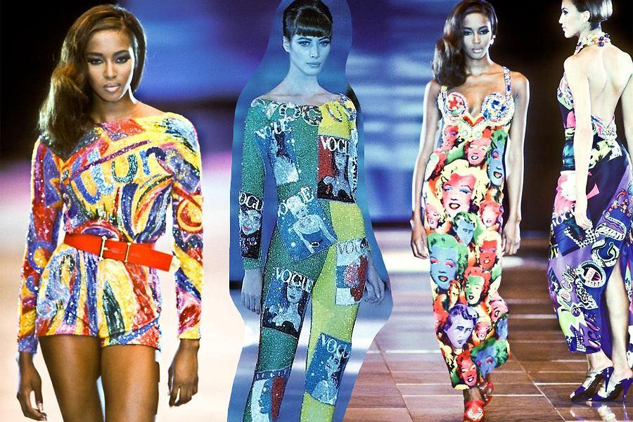 Moda a sztuka, pokaz Gianniego Versace, wiosna/lato 1991