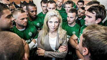 Izabella Łukomska-Pyżalska i jej piłkarze