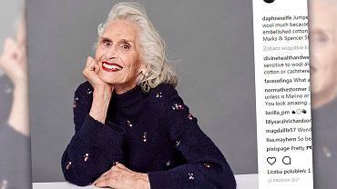 Daphne ma 89-lat i jest uważana za najstarszą, profesjonalna modelką na świecie.
