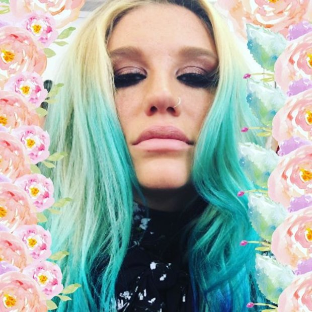 Kesha, fot. https://www.instagram.com/iiswhoiis/