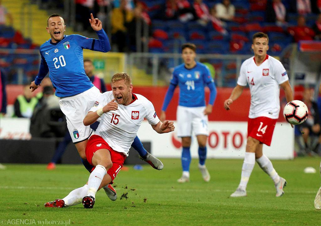 Reprezentacja Polski rozegrała kolejny przeciętny mecz pod wodzą trenera Jerzego Brzęczka. Spotkanie z Włochami było drugim meczem na śląskiej ziemi w ramach Ligi Narodów. Po porażce z Portugalią (2:3), tym razem białoczerwoni nie znaleźli sposobu na Włochów. Po słabej pierwszej połowie, po przerwie Polacy stworzyli więcej okazji pod bramką rywala. Gola jednak strzelili w końcówce goście (0:1).