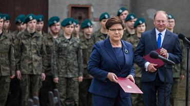 Premier Szydło na uroczystości powołania nowej placówki muzealnej w Oświęcimiu - Muzeum Sprawiedliwych