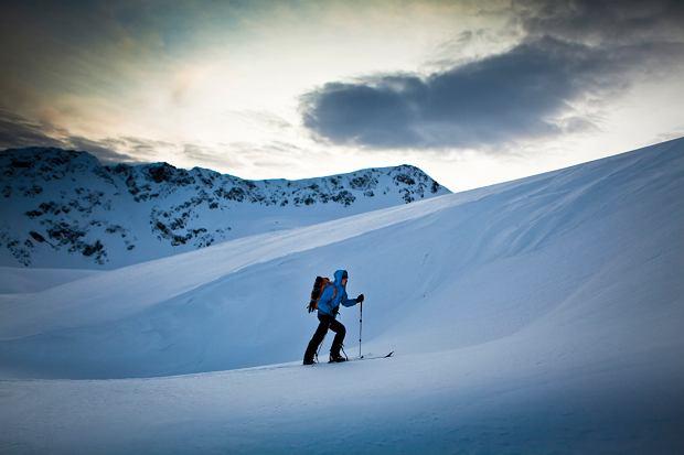 lawiny, ski toury