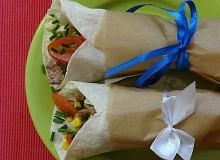 Tortilla z żurawiną suszoną - ugotuj