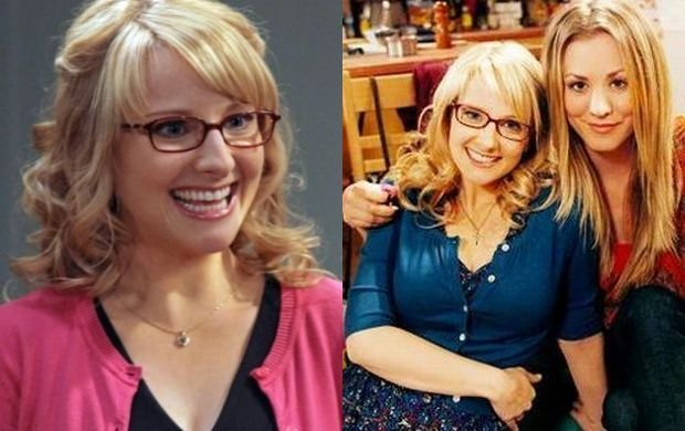 melissa rauch and kale...
