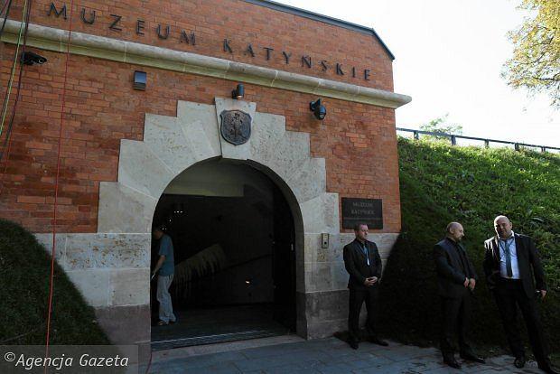 Muzeum Katyńskie w Cytadeli / fot. Agata Grzybowska