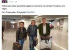 Clarkson, Hammond i May na Lotnisku Chopina