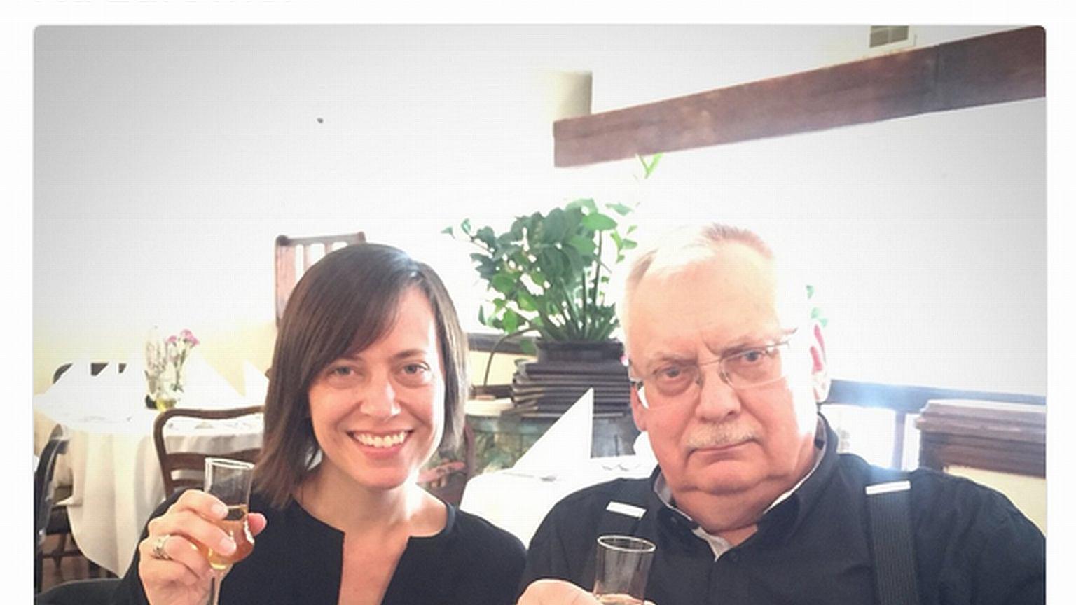 Scenarzystka serialu 'Wiedźmin'odwiedziła Polskę. Spotkała się z Sapkowskim i pochwaliła polską wódkę