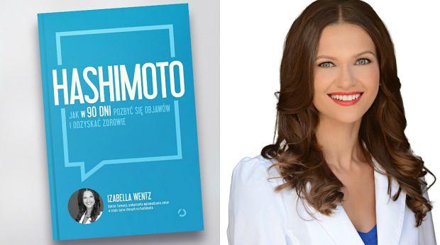 Na zdjęciu dr Izabella Wentz i okładka jej najnowszej książki