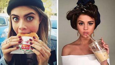 Selena Gomez I Taylor Swift czasem pozwalają sobie na odrobinę jedzeniowego szaleństwa.