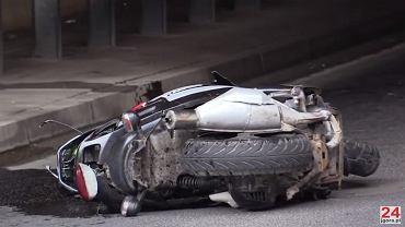 W wypadku na ul. Parkowej w Karpaczu zginął kierowca skutera