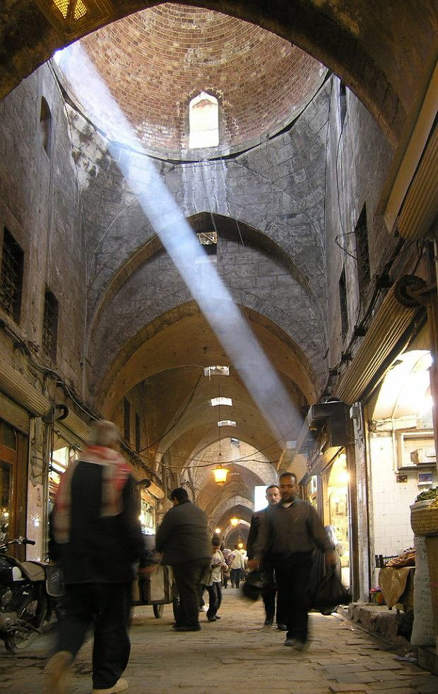 Syria. Suk w Aleppo w 2004 roku / Seier / Flickr.com