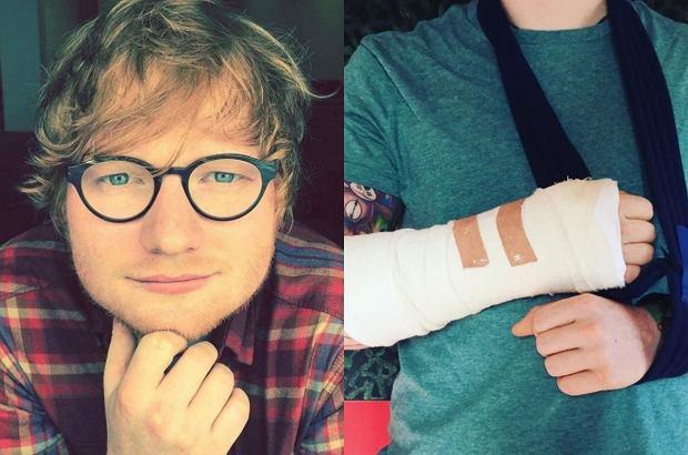 """Wokalista został potrącony przez samochód podczas przejażdżki rowerem po Londynie. Istnieje wysokie prawdopodobieństwo, że część trasy promującej jego ostatni album """"Divide"""" może zostać przełożona, a nawet przerwana."""