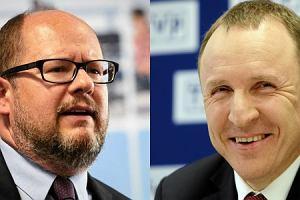 """Adamowicz dosadnie o prezesie TVP: """"Pozdr�wcie tego idiot� ode mnie"""""""
