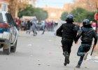 Policja interweniuje wobec demonstrant�w