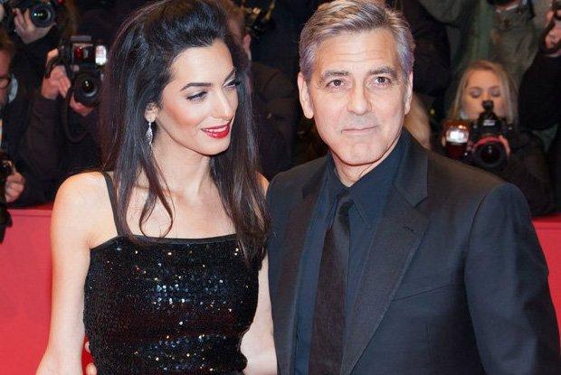 George i Amal Clooney, Berlinale 2016