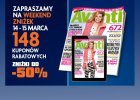 Weekend zniżek z Avanti: 14-15 marca 2015
