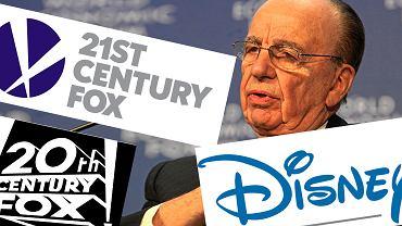 Disney przejmuje sporą część imperium Ruperta Murdocha