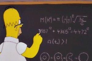 Homer Simpson przewidział masę bozonu Higgsa 14 lat przed jej odkryciem!