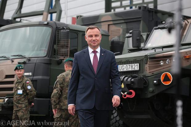 Zdjęcie numer 1 w galerii - Andrzej Duda myślał w Leżajsku o Polexicie? Szczerski: czerpał z ust ojców założycieli UE