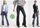 Jeansy z szerokimi nogawkami - przegl�d najciekawszych modeli