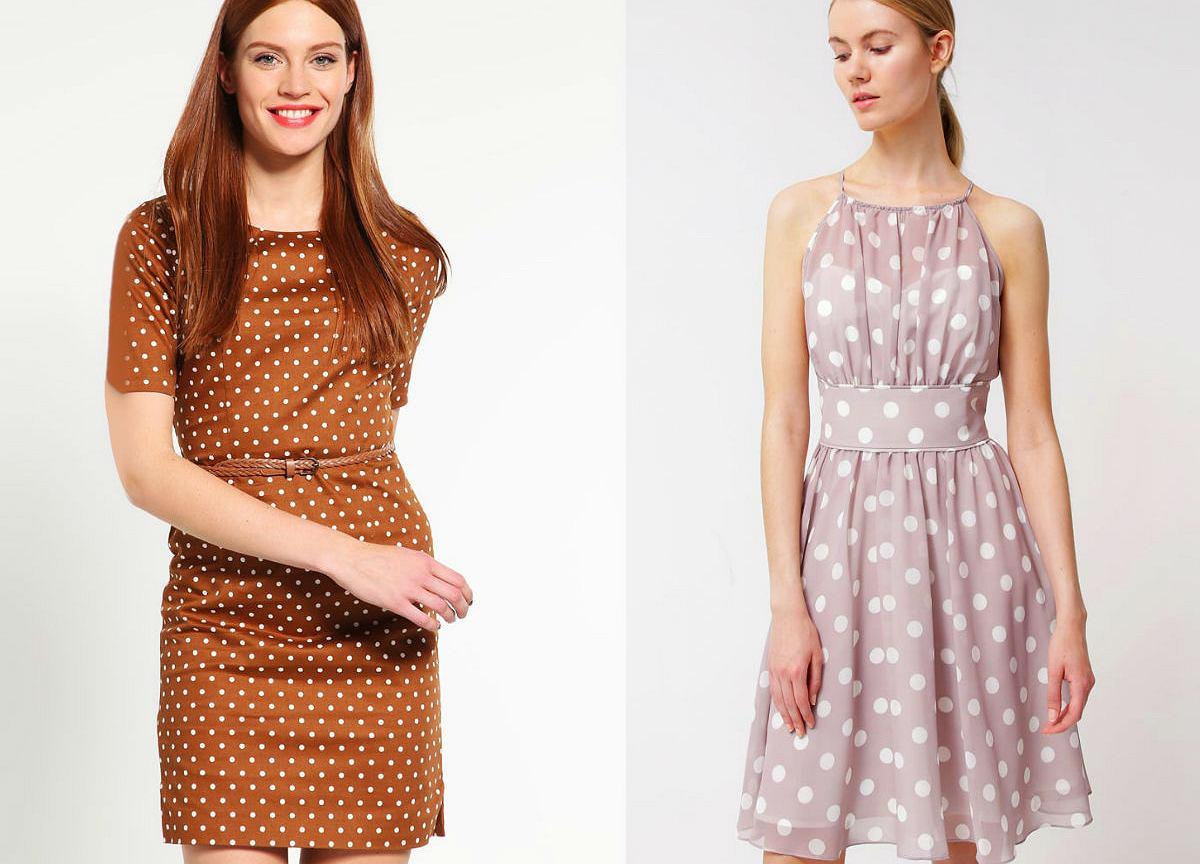 948e57d1d540 Ubrania w grochy - wiosna w stylu retro