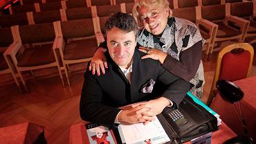 Maksim Wiengierow (Maxim Vengerov) z mamą