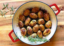 Młode ziemniaki pieczone w occie balsamicznym - ugotuj