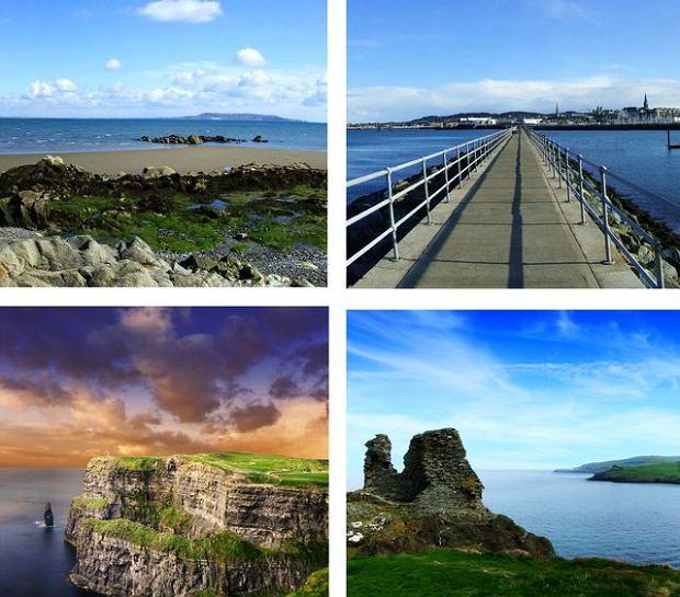 Dublin Irlandia. Zatoka Dublińska
