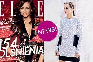 """Kinga Rusin w awangardowych stylizacjach dla """"Elle"""" - jak wam si� podoba? [ZDJ�CIA]"""